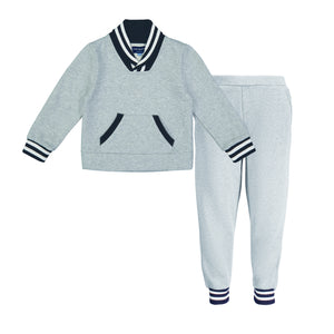Grey Sweat Set - Andy & Evan