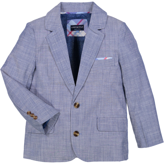 Chambray Suit - Andy & Evan