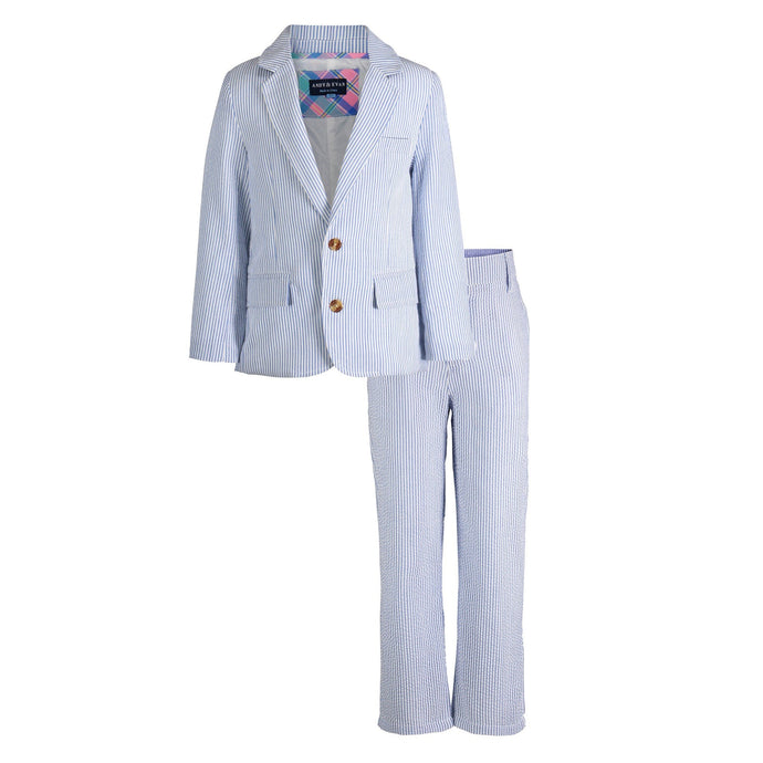 Seersucker Suit Set - Andy & Evan