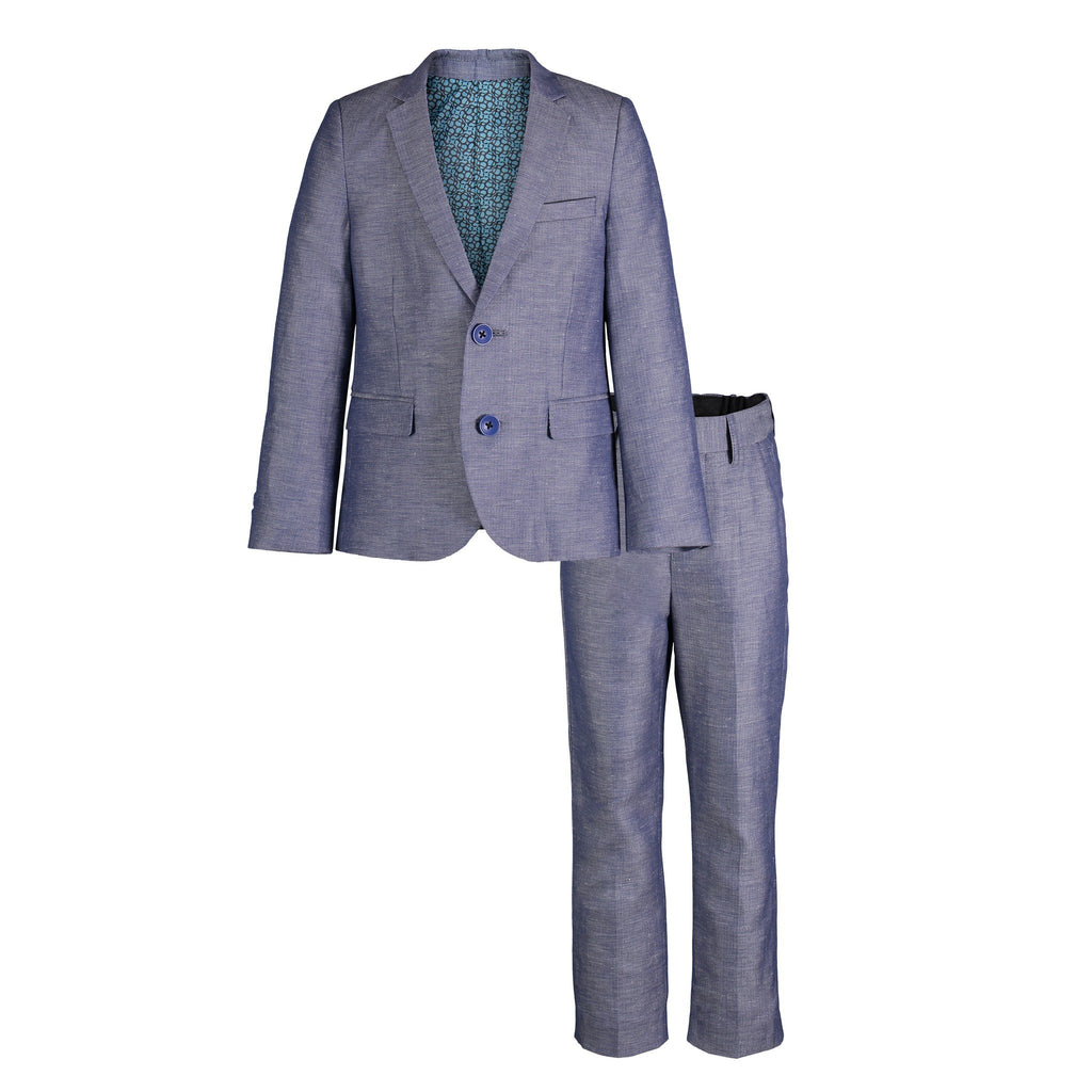 Navy Two-Piece Suit Set - Andy & Evan
