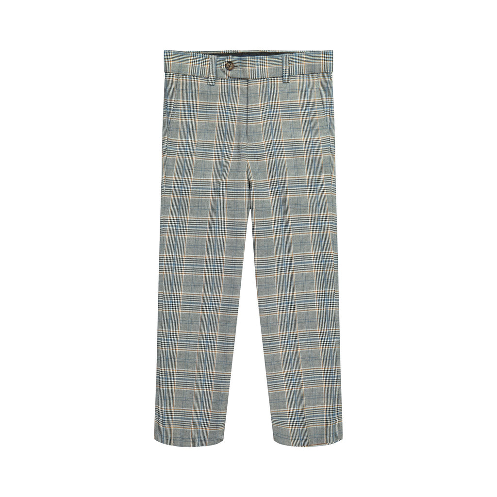 Light Grey Plaid Suit - Andy & Evan