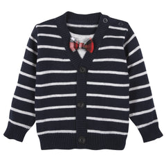 Mock Cardigan Infant Sweater Set