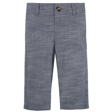 Load image into Gallery viewer, Blue Chambray Vest & Pant Set - Andy & Evan