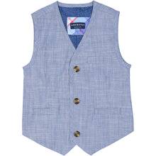 Load image into Gallery viewer, Chambray Suit Vest Set - Andy & Evan