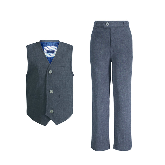 Grey Vest Set - Andy & Evan