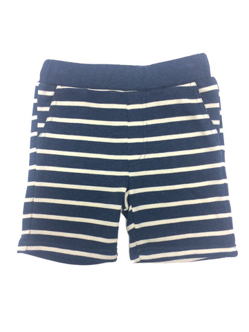 Navy Knit Short