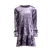 Load image into Gallery viewer, Purple Crush Velvet Dress - Andy & Evan