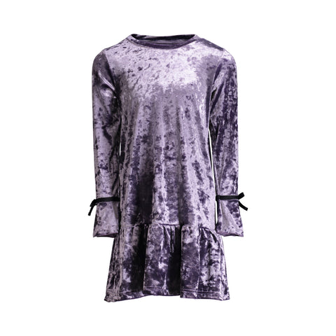 Purple Crush Velvet Dress