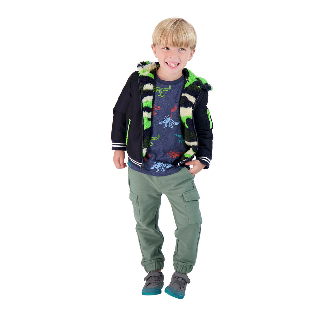 Baby Boy Reversible Jacket - Andy & Evan