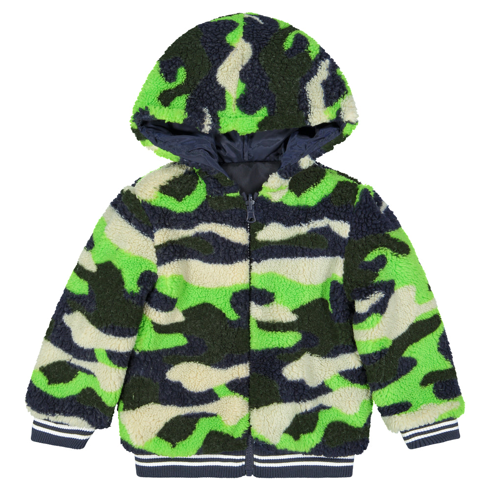 Reversible Camo Jacket - Andy & Evan