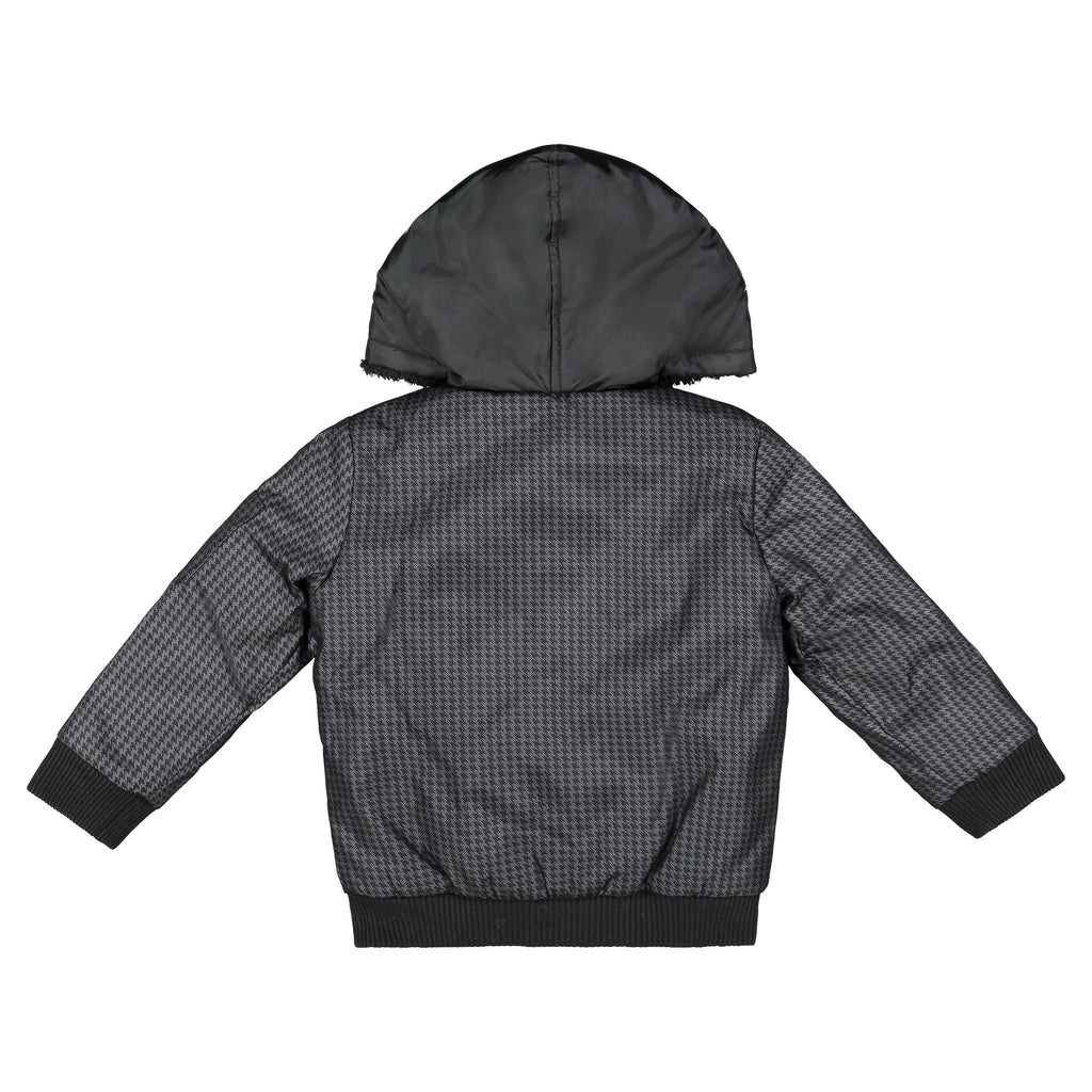 Boys Houndstooth Reversible Jacket - Andy & Evan
