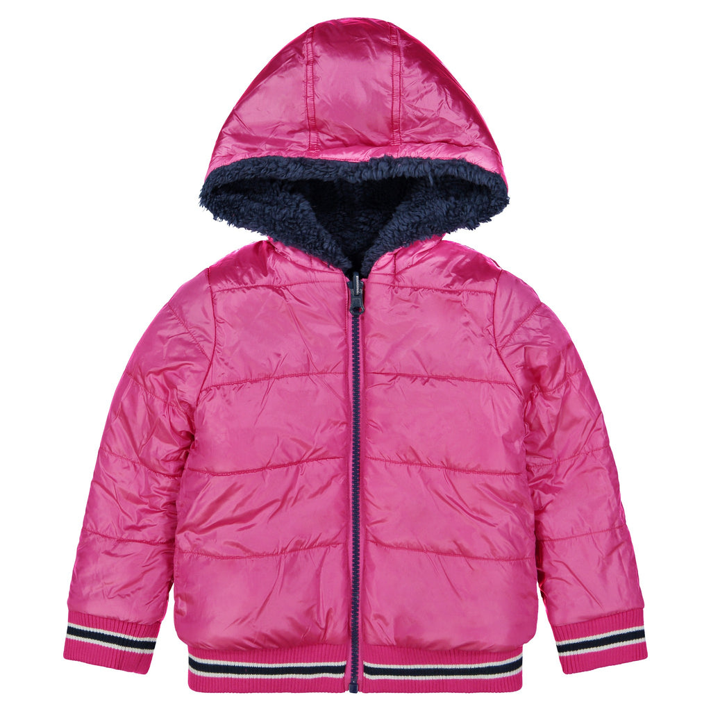 Girls Sherpa Reversible Jacket - Andy & Evan