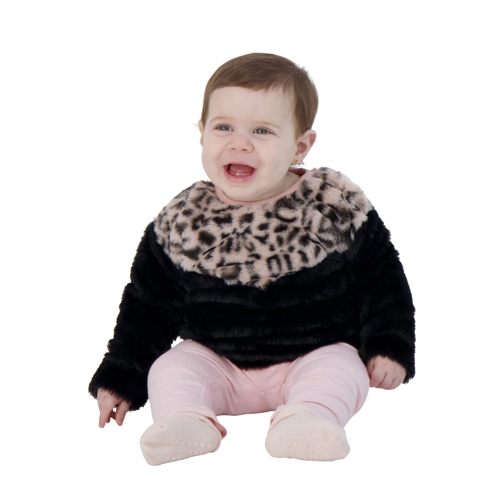 Baby Girls Leopard Sweater & Legging Set - Andy & Evan