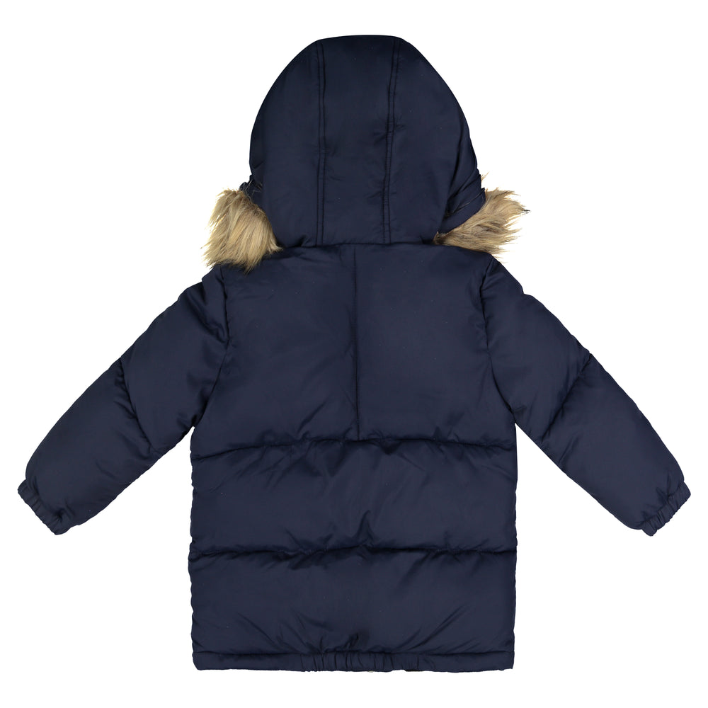 Boys Navy Nordic Bubble Jacket - Andy & Evan