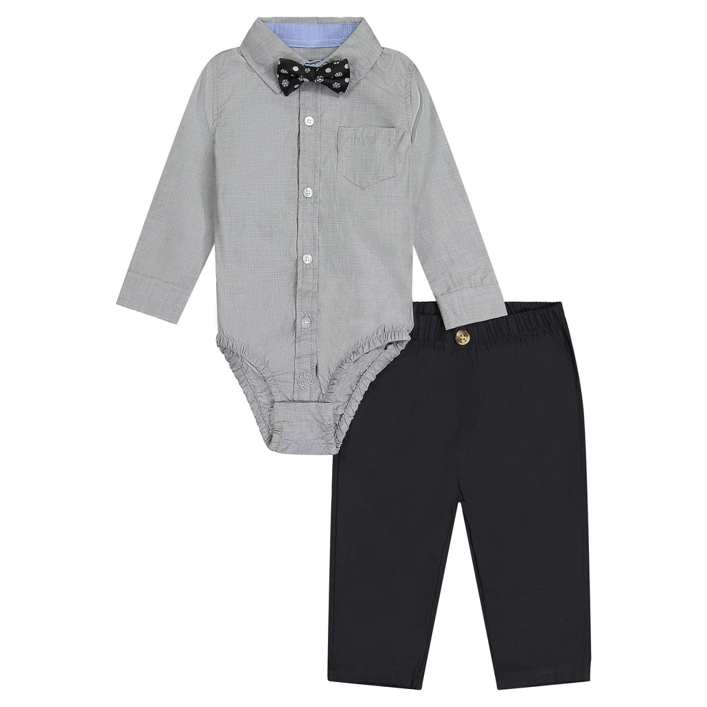 Grey 3-Piece Holiday Set - Andy & Evan
