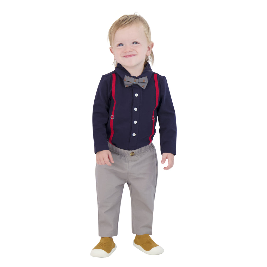 Shirtzie Bowtie Set - Andy & Evan
