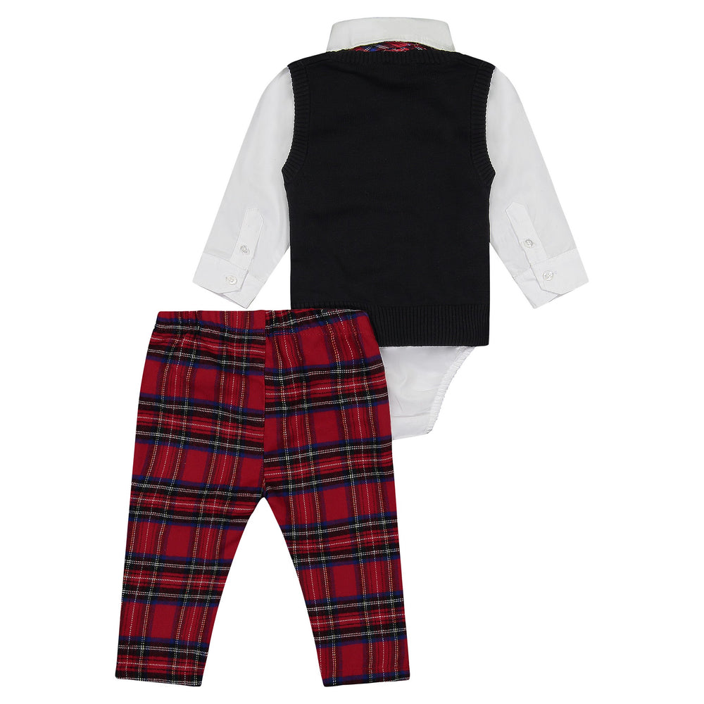 Dapper Holiday Vest Set (3-Piece) - Andy & Evan