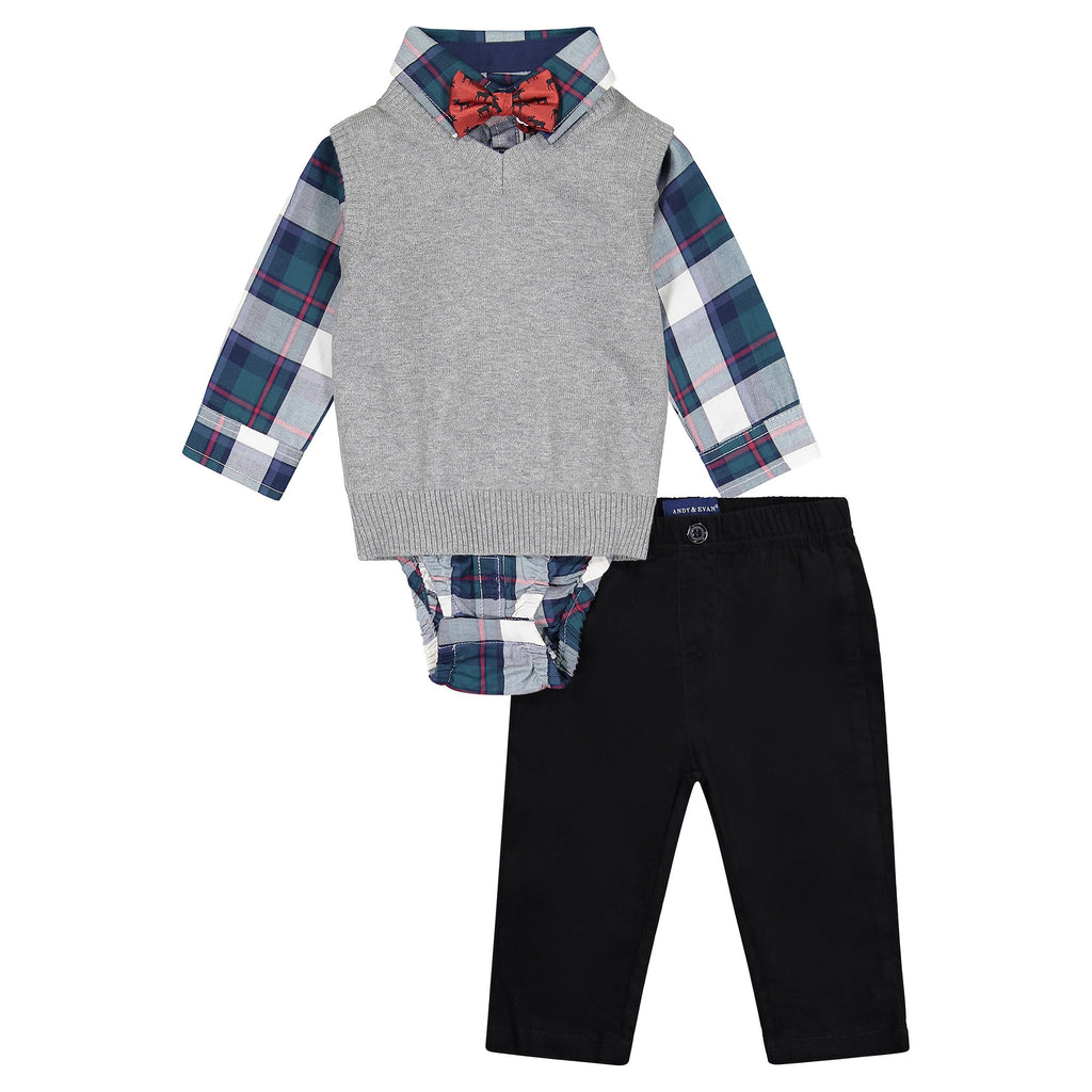 The Holiday Gent Vest Set (4-Piece) - Andy & Evan
