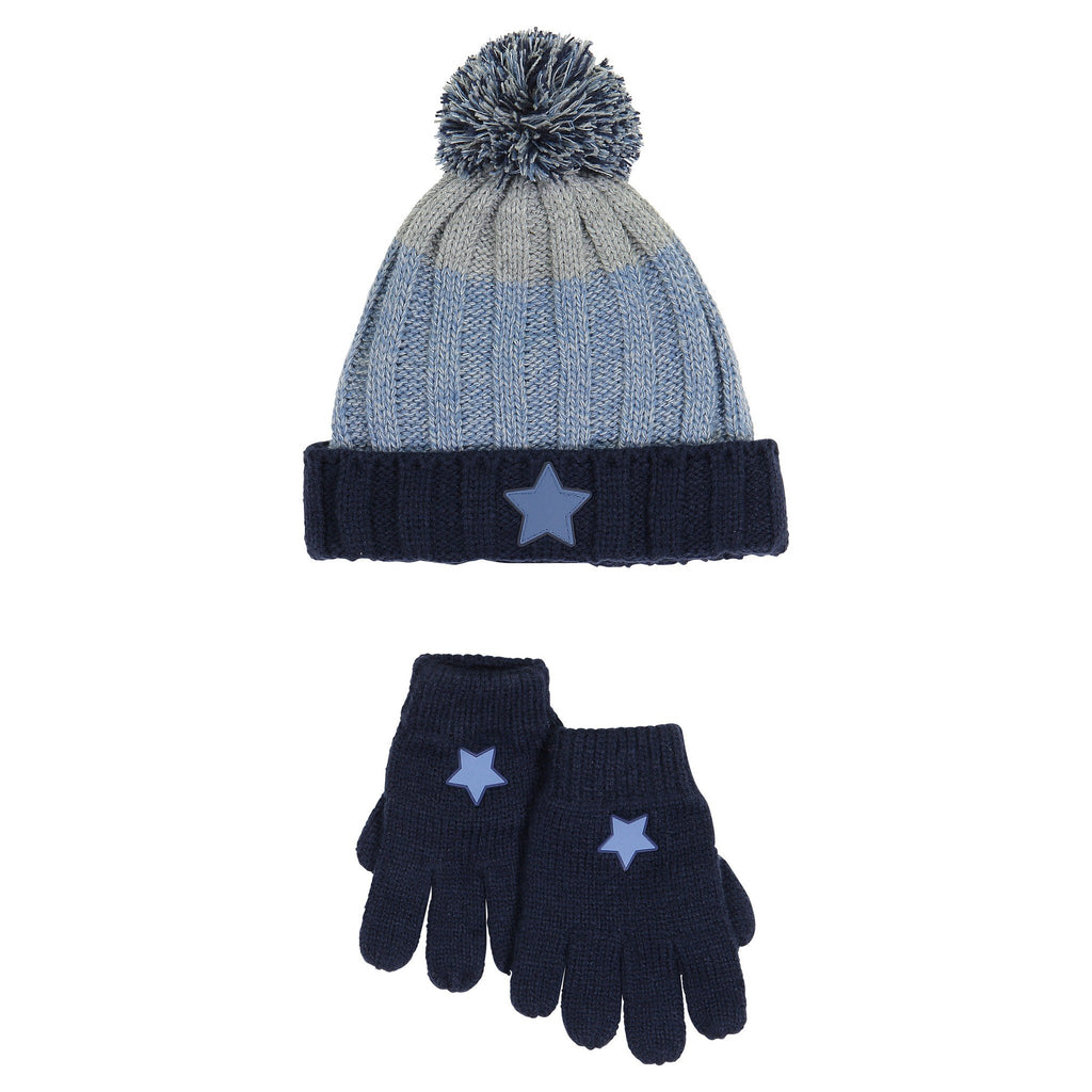 Hat & Glove Set - Ombre Star - Andy & Evan