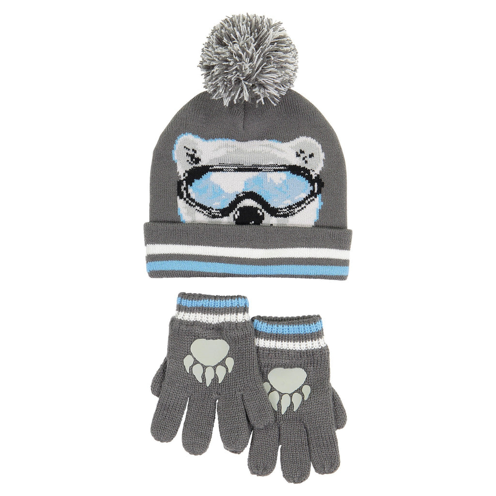 Hat & Glove Set - Polar Bear - Andy & Evan