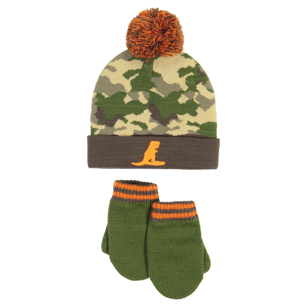 Hat & Glove Set - Camo - Andy & Evan