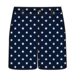 Star Printed Woven (Twill) Shorts (NEW! G-Cutee by Andy & Evan)