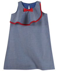 Chambray Bow Dress (NEW! G-Cutee by Andy & Evan)