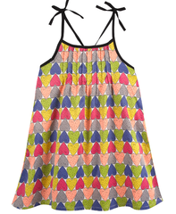 Printed Heart Dress (NEW! G-Cutee by Andy & Evan)