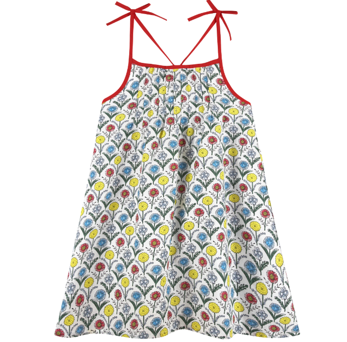 Printed Floral Dress (NEW! G-Cutee by Andy & Evan) - Andy & Evan