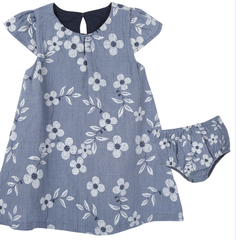 Printed Chambray Floral Dress (NEW! G-Cutee by Andy & Evan)