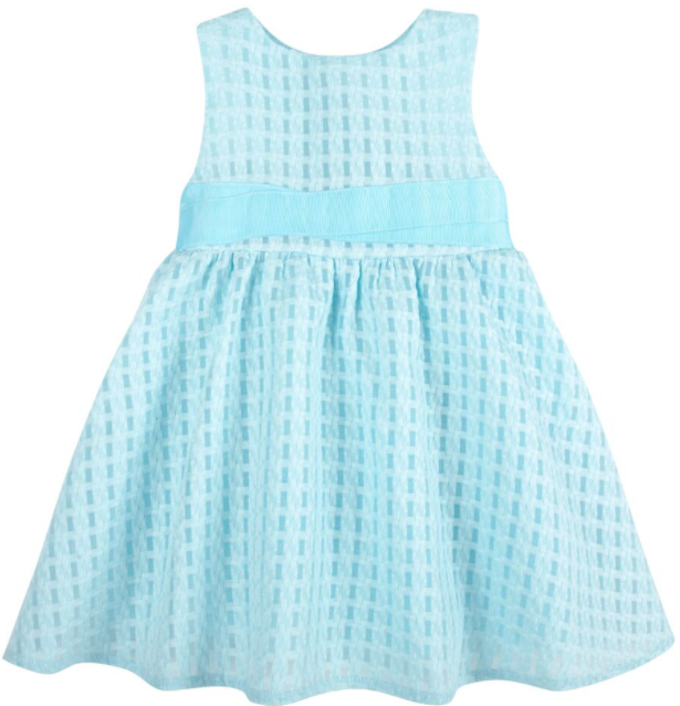 Textured Aqua Occasion Dress (NEW! G-Cutee by Andy & Evan) - Andy & Evan