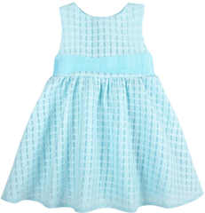 Textured Aqua Occasion Dress (NEW! G-Cutee by Andy & Evan)