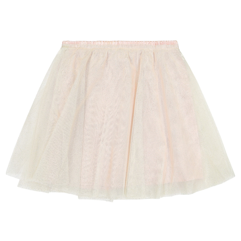 Girls Silver Glitter Skirt - Andy & Evan