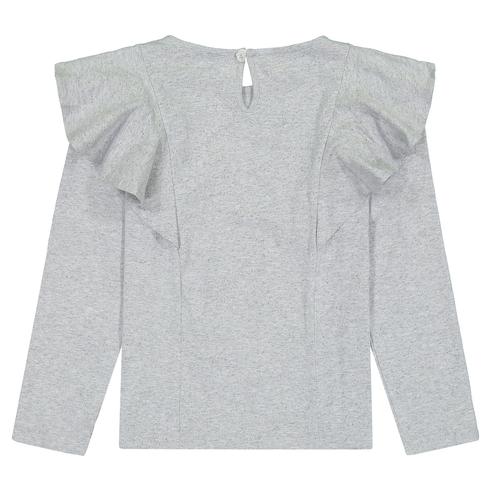 Girls Shimmer Long Sleeve Tee - Andy & Evan