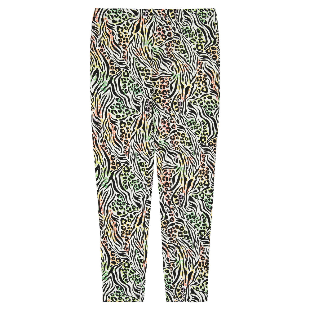 Girls Animal Print Legging - Andy & Evan