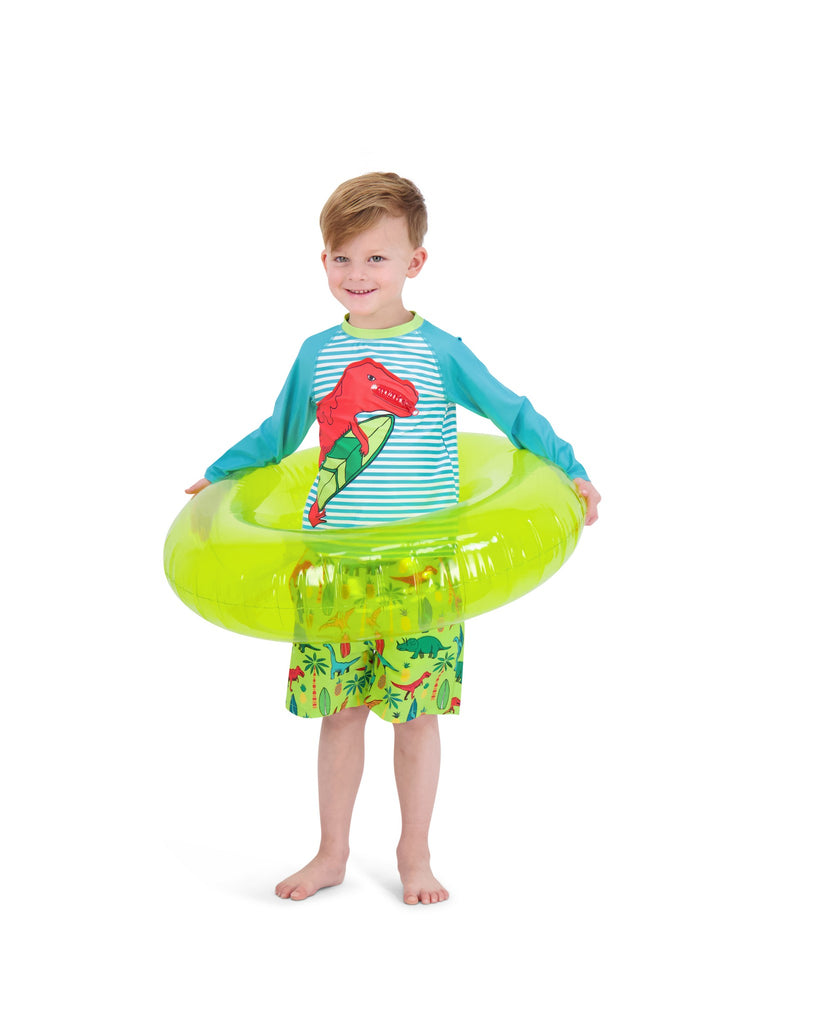 UPF 50 Boys Dino Rashguard Set - Andy & Evan