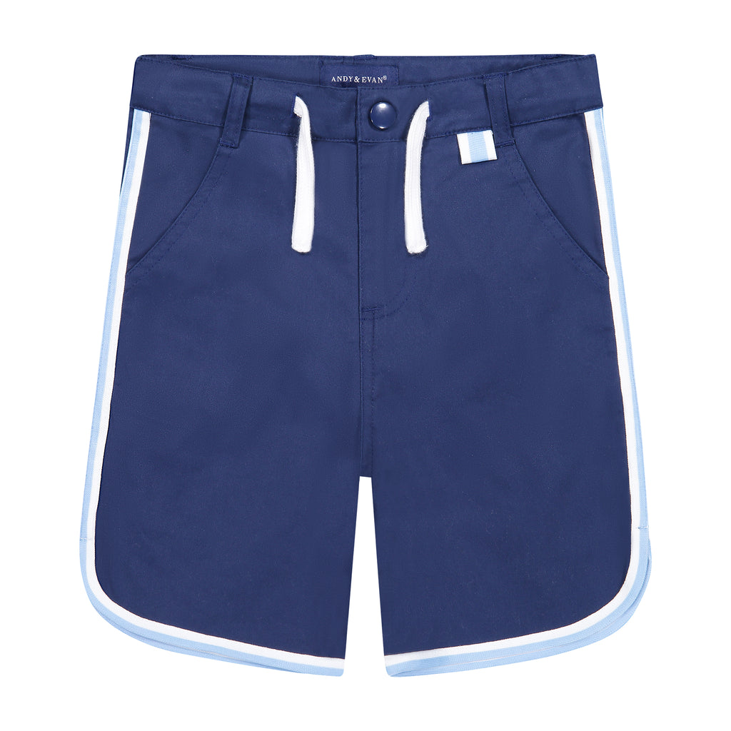 Boys Piped Shorts - Andy & Evan