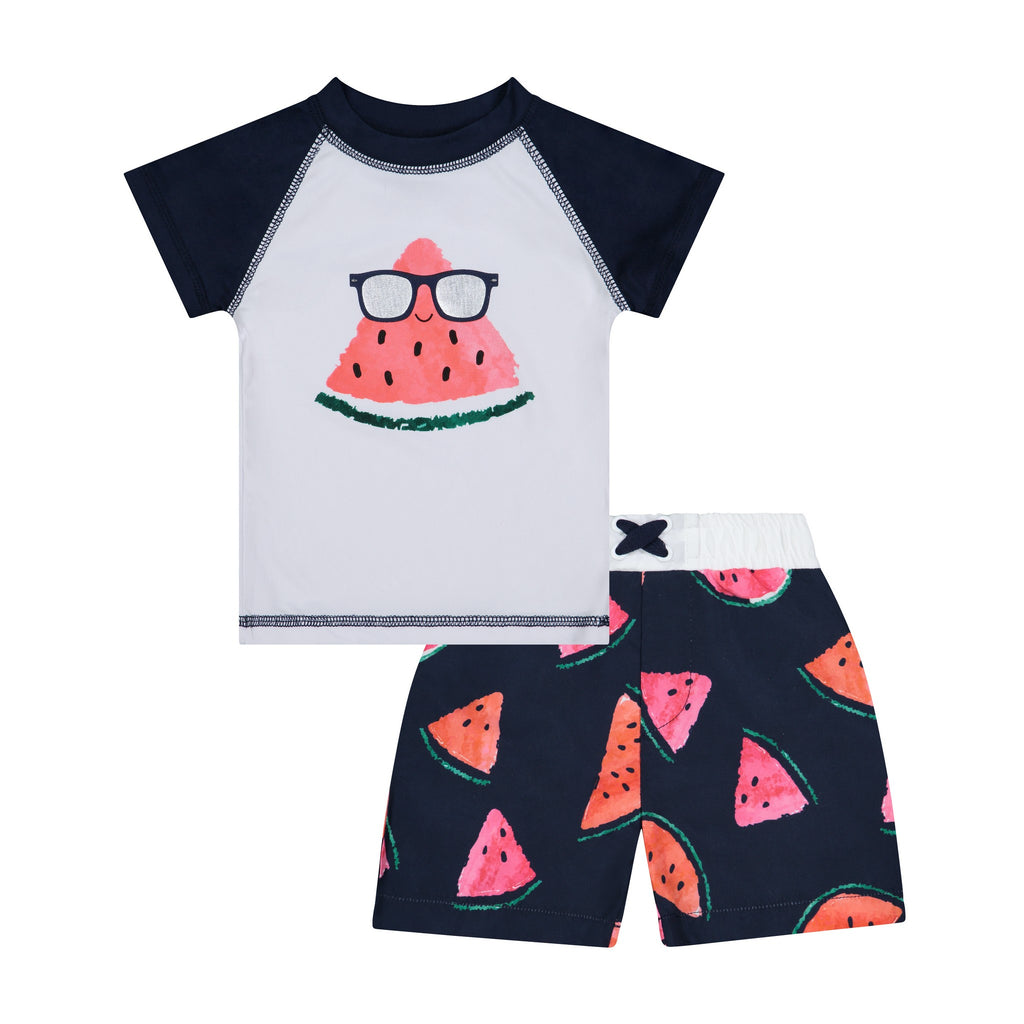 Infant Watermelon Rashguard Set - Andy & Evan