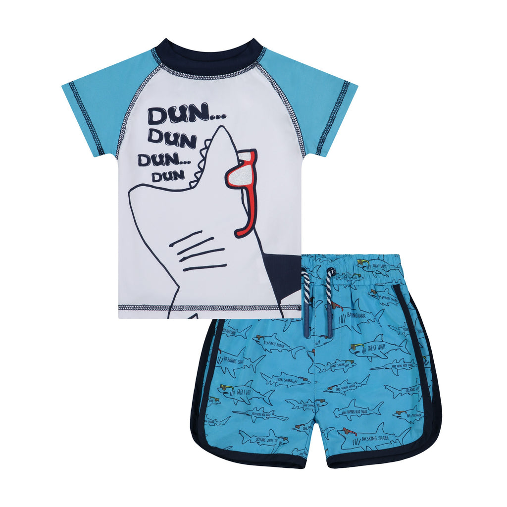 Infant Shark Rashguard Set - Andy & Evan
