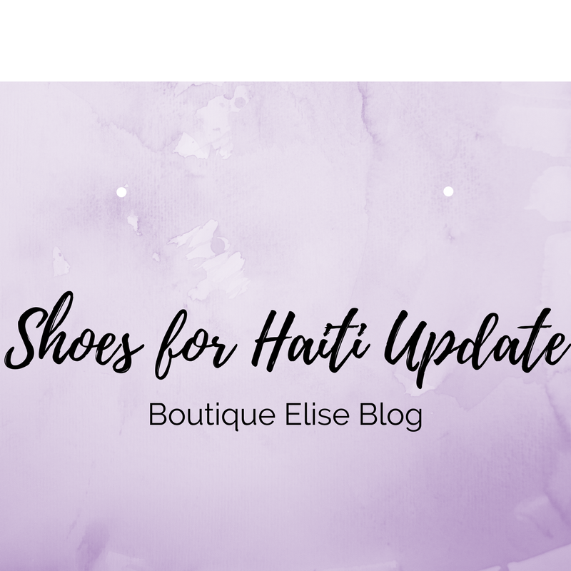 Gently Worn Tennis Shoes for Haiti *Update*