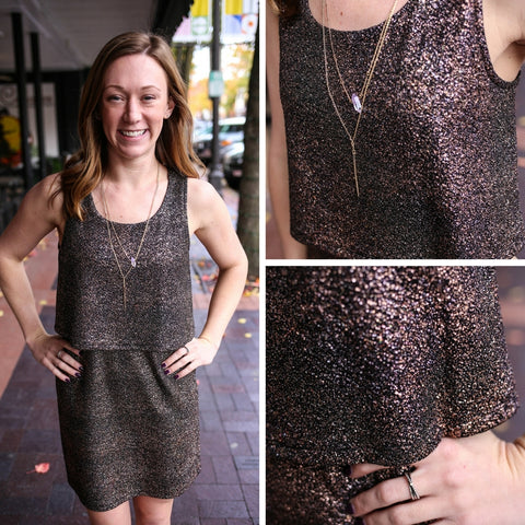 Boutique Elise's Copper Dress