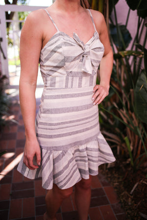 Sandcastle Stripe Dress
