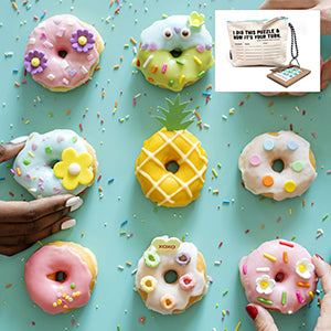 Donut Wooden Puzzle