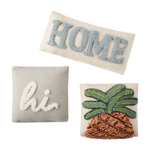 Hi Home & Pineapple Small Pillows | Boutique Elise