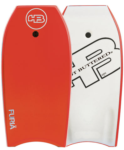 "HB Furia EPS 39"" Bodyboard - Red  With Free Coil Leash"