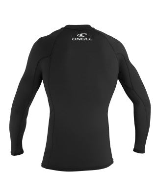 O'Neill  Men's BASIC SKINS LS CREW - 002 BLACK (S+L+XL+XXL)