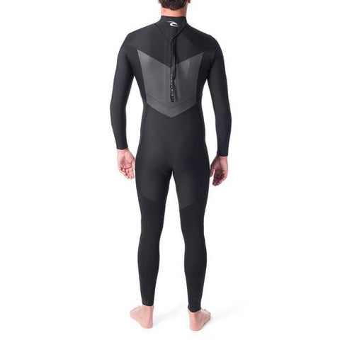 2019 Ripcurl Dawn Patrol  3/2mm Back  Zip Steamer Black (M/LG/XL/XXL)