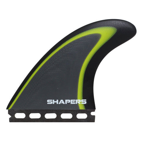 Shapers Core 1 Pro Glass Large 3-Fin Single Tab FREE SHIPPING