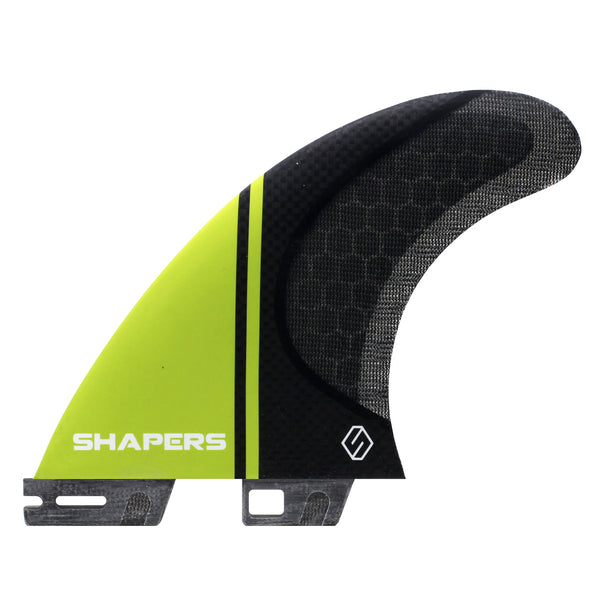 Shapers 2 Base S5 Medium Stealth 3-Fin FREE SHIPPING