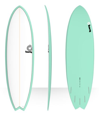 Torq Mod Fish 6'3 Sea Green (Includes Fins)